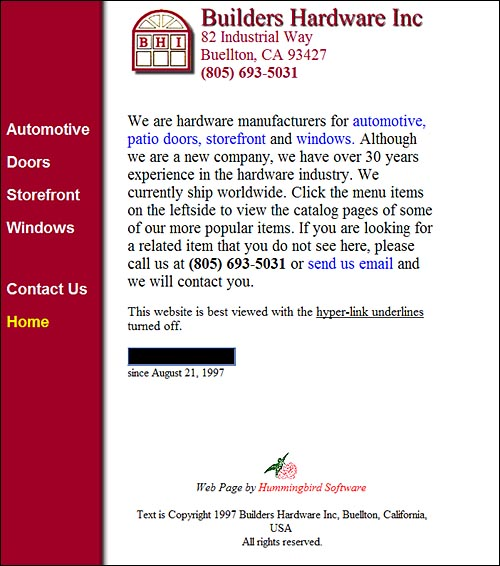 Contact Us Page Examples: Web Pages Contact Us Sample Website Homepage Of Builders
